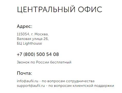 Где находится в Москве Академия Управления Финансами и Инвестициями